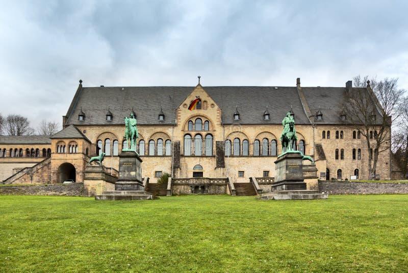 Palácio imperial de Goslar imagens de stock royalty free