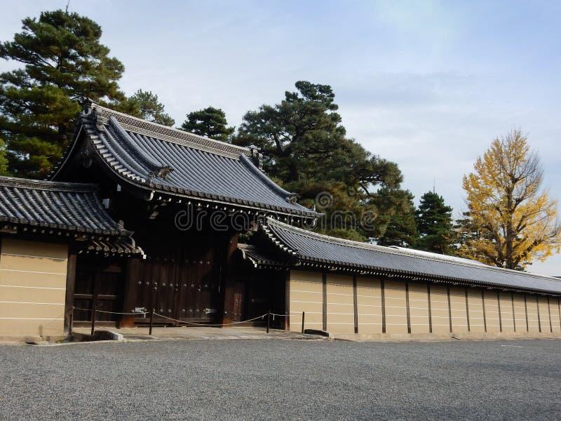 Palácio imperial de Kyoto foto de stock royalty free