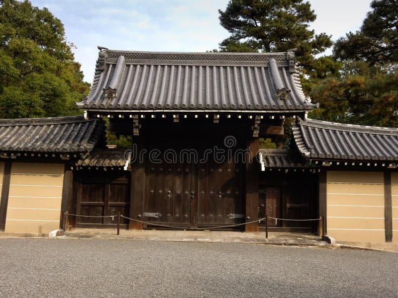 Palácio imperial de Kyoto fotografia de stock royalty free