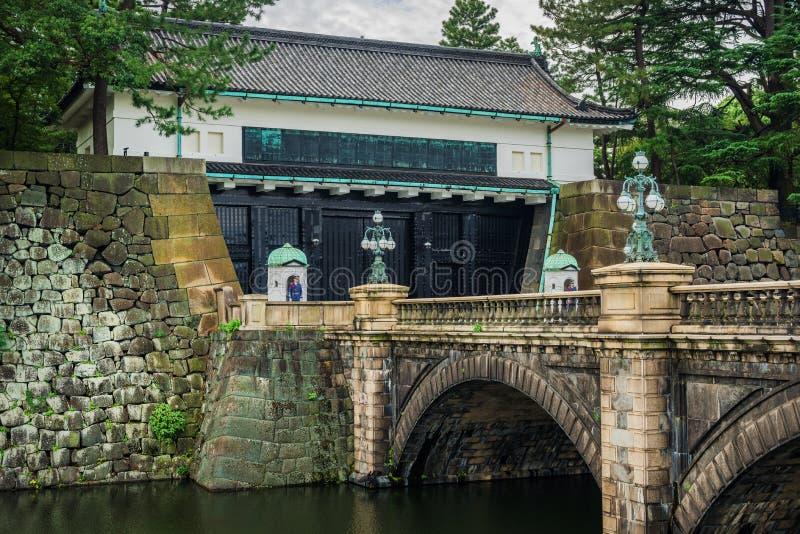 Palácio imperial de Tokyo foto de stock