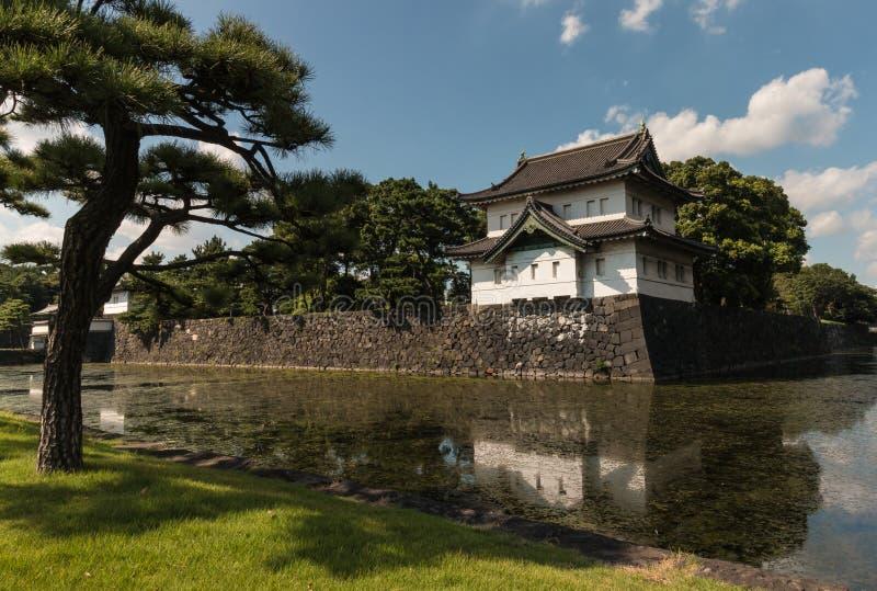 Palácio imperial em Tokyo foto de stock
