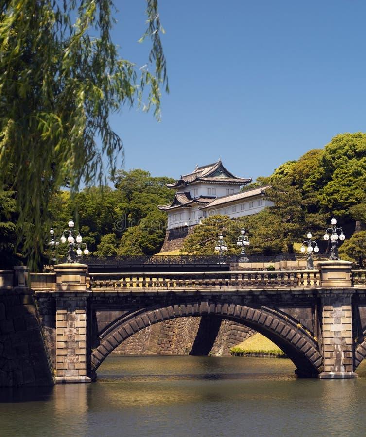 Palácio imperial - Tokyo - Japão imagens de stock