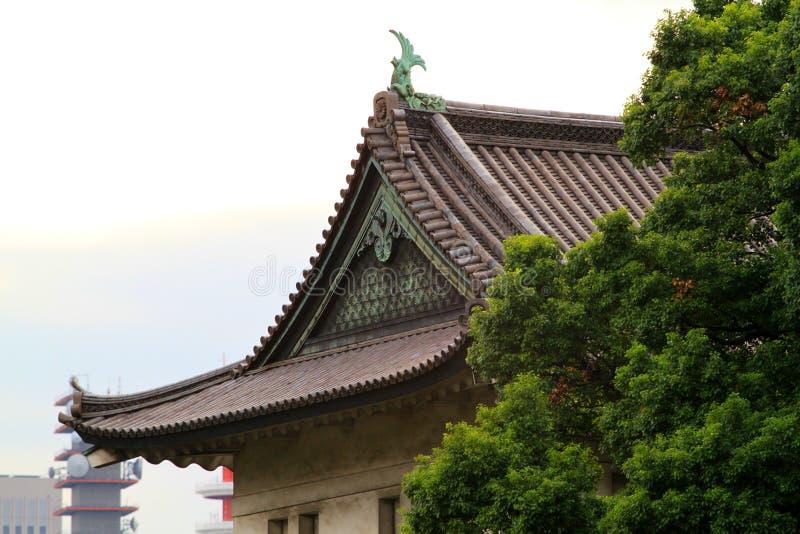 Palácio imperial, Tokyo, Japão fotos de stock