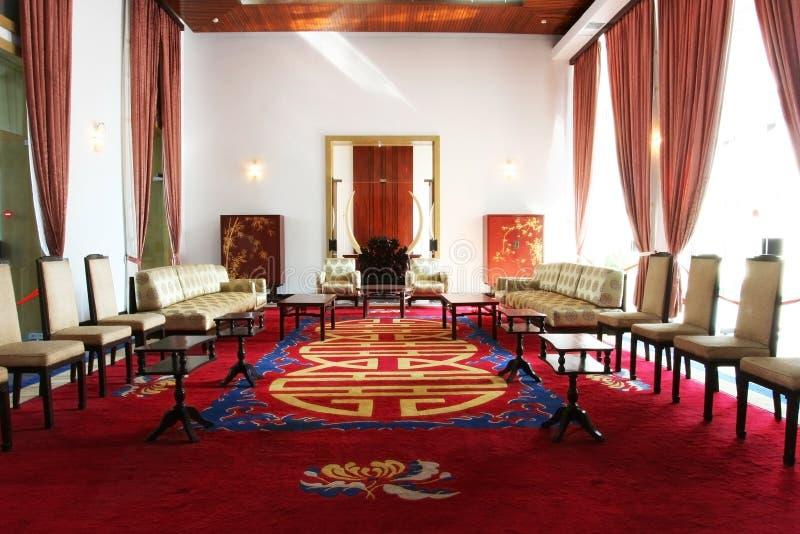 Palácio independente (Vietnam) fotos de stock royalty free