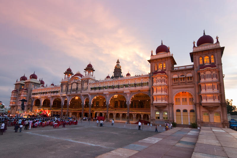 Palácio indiano fotos de stock royalty free