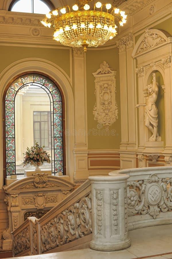 Palácio interno imagens de stock