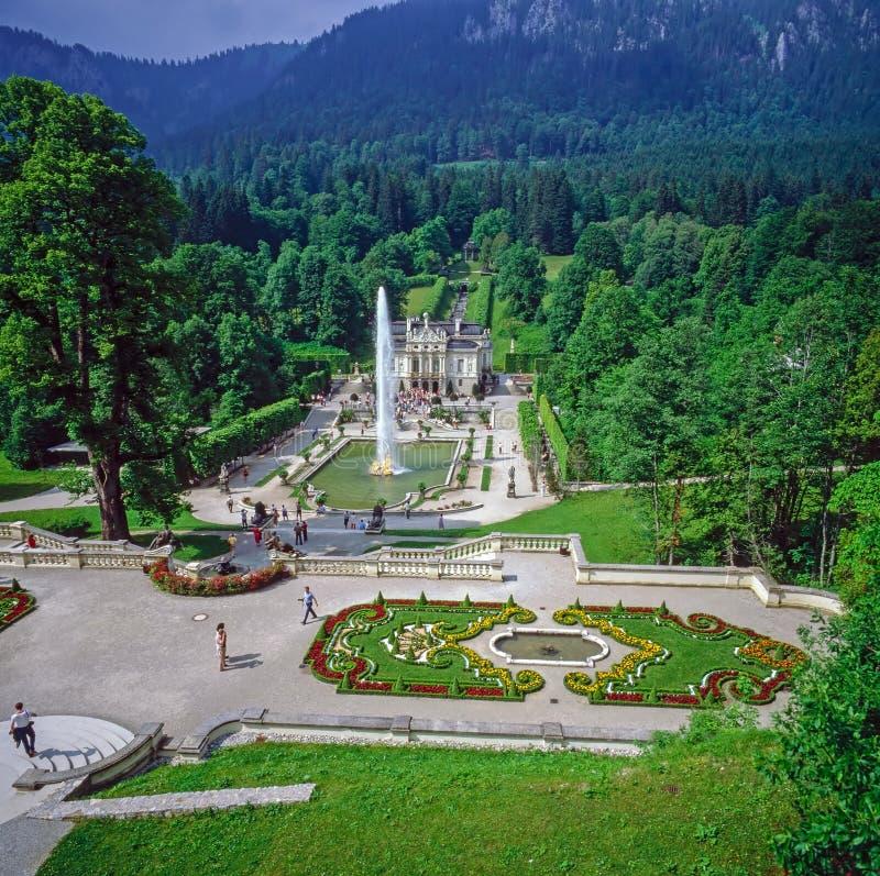 Palácio Linderhof, Alemanha fotografia de stock royalty free