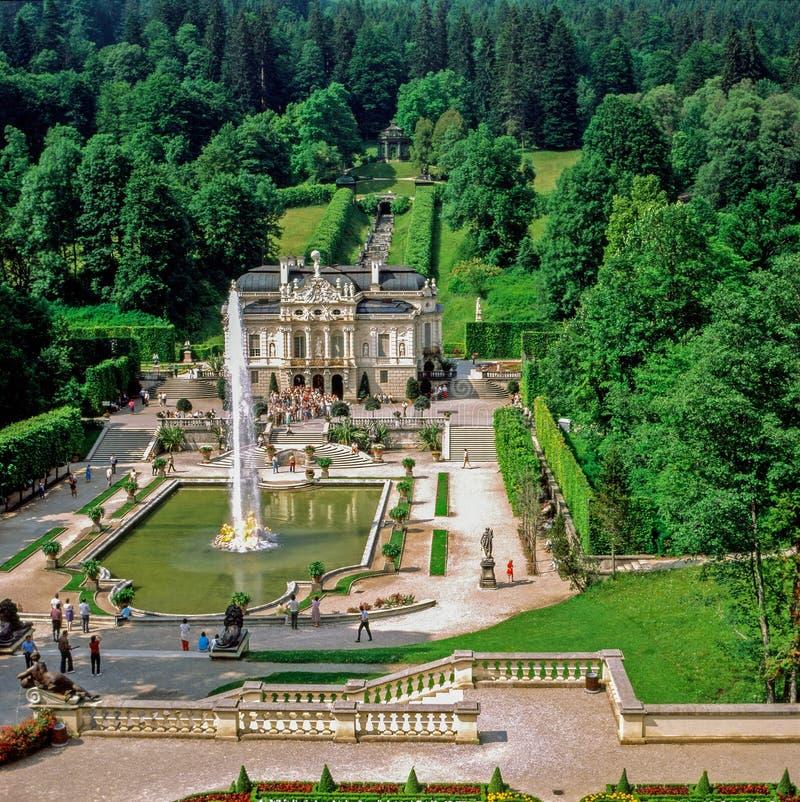 Palácio Linderhof, Alemanha imagem de stock royalty free