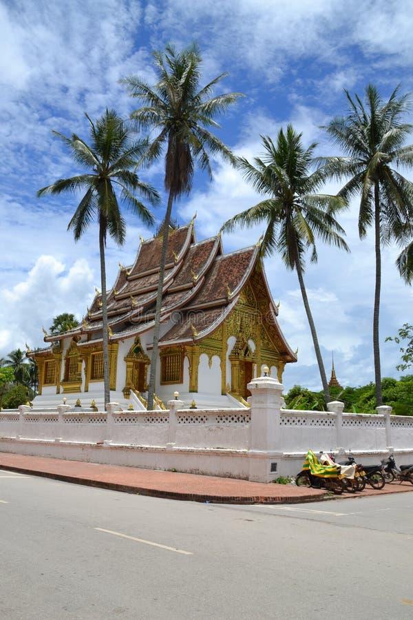 Palácio Luang Prabang fotografia de stock