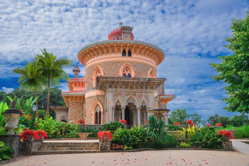 Palácio monumental de Sintra imagens de stock royalty free