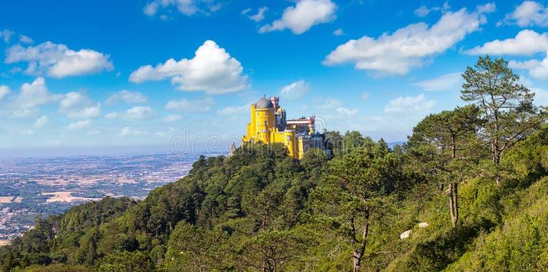 Palácio nacional de Pena em Sintra fotografia de stock royalty free