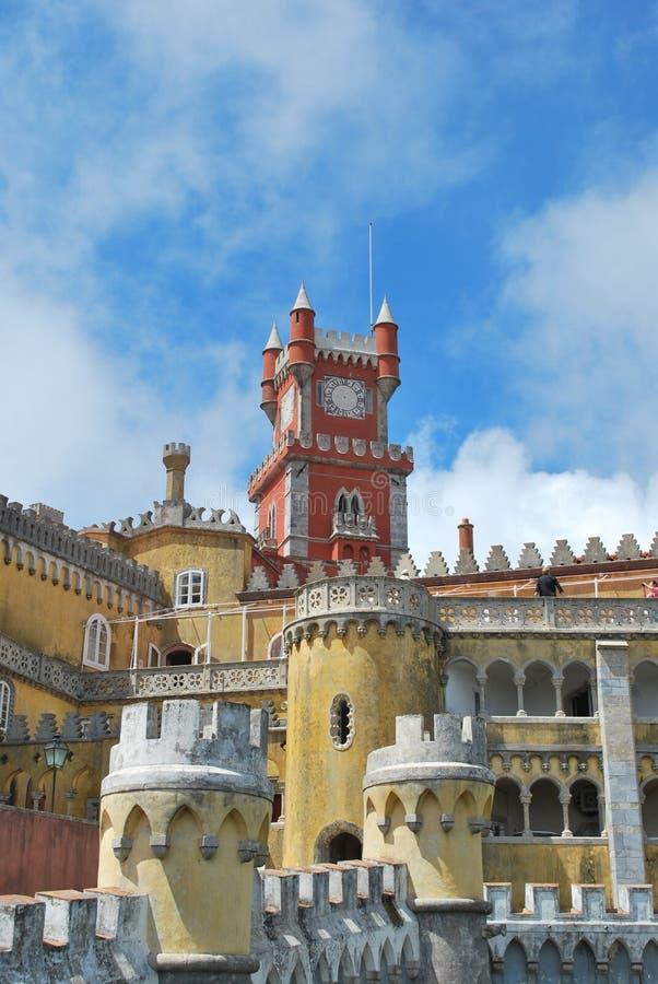 Palácio nacional de Pena em Sintra, Portugal foto de stock royalty free