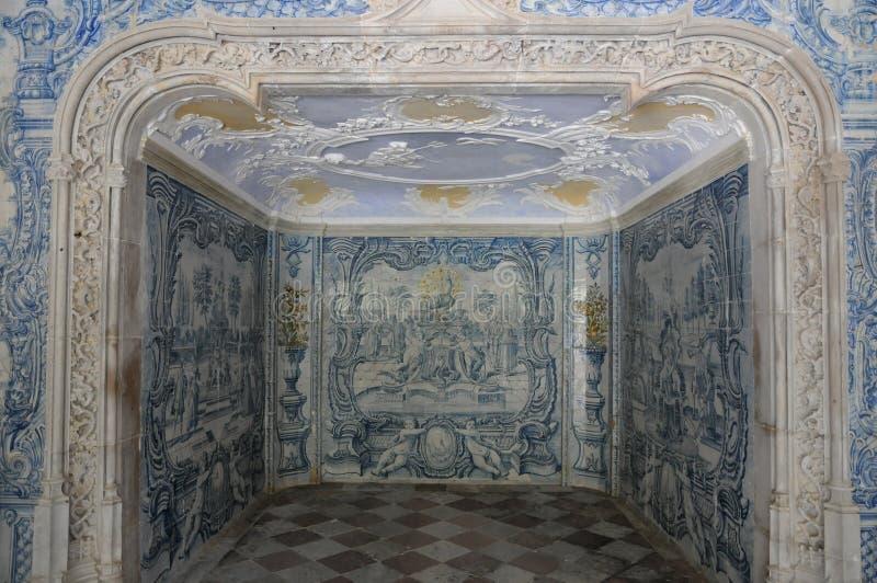 Palácio nacional em Sintra foto de stock royalty free