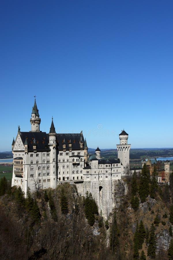 Palácio Neuschwanstein, Baviera, Alemanha imagens de stock royalty free