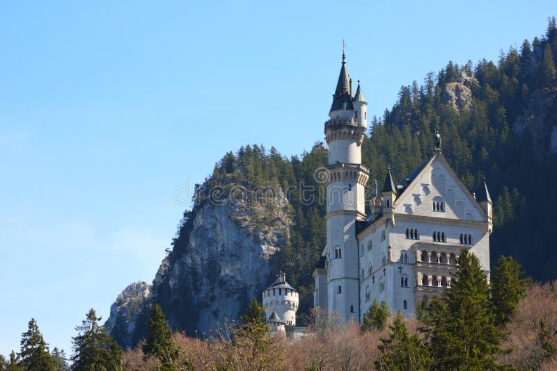 Palácio Neuschwanstein, Baviera, Alemanha fotos de stock royalty free