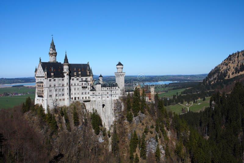 Palácio Neuschwanstein, Baviera, Alemanha foto de stock royalty free