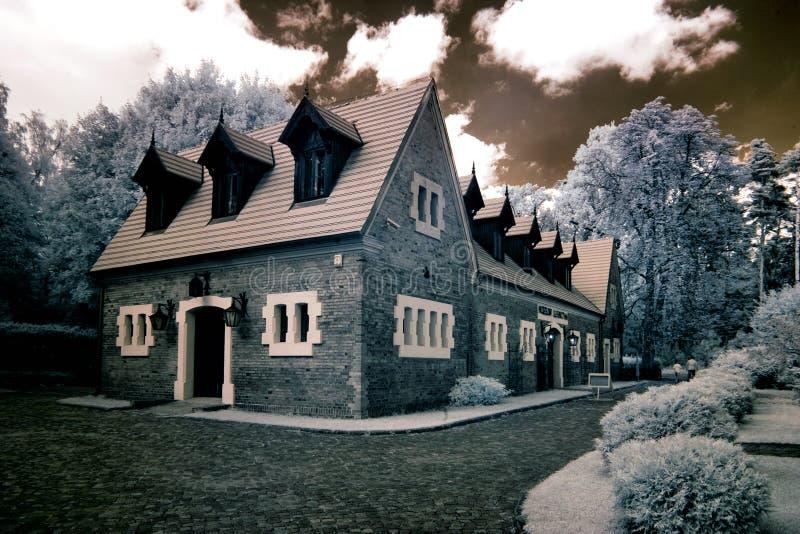 Palácio no maior Polônia fotografia de stock