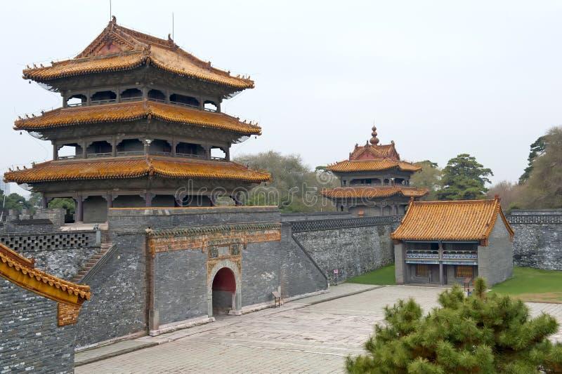 Palácio no parque de Beiling fotos de stock royalty free
