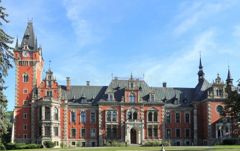 Palácio no Polônia foto de stock