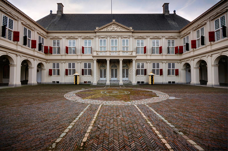 Palácio Noordeinde, Haia imagem de stock royalty free