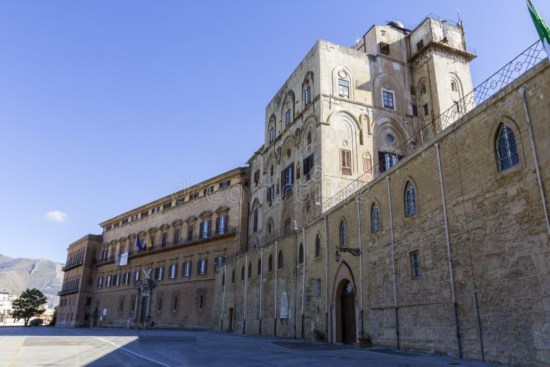 Palácio normando fotografia de stock royalty free