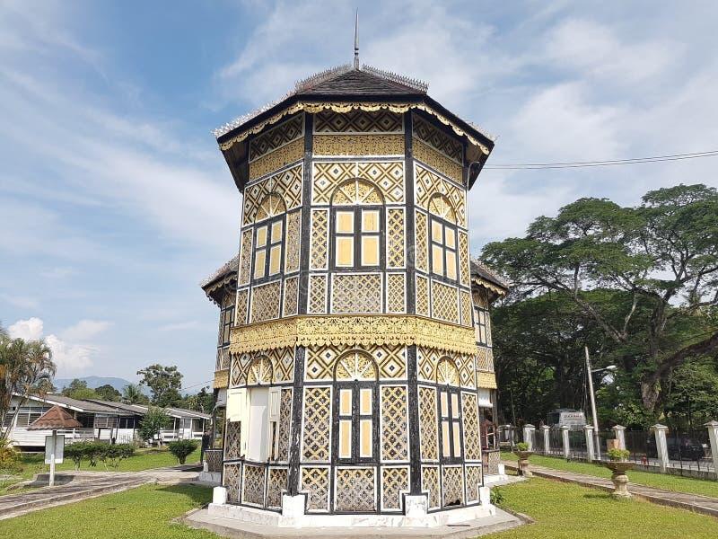 Palácio original em Kuala Kangsar, Perak, Malásia imagem de stock royalty free