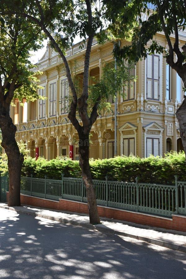 Palácio, príncipes Ä°sland, Turquia imagens de stock royalty free