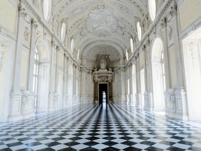 Palácio real de Reggia di venaria em Turin Italia imagem de stock