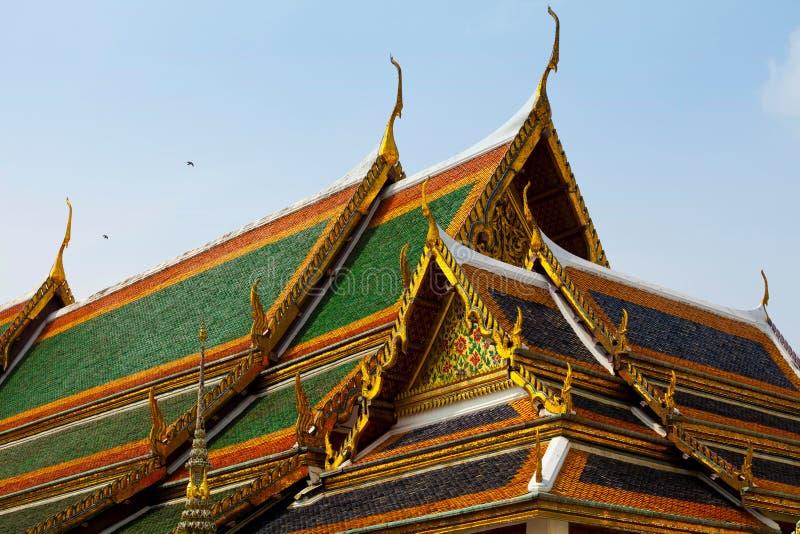 Palácio real em Banguecoque imagem de stock