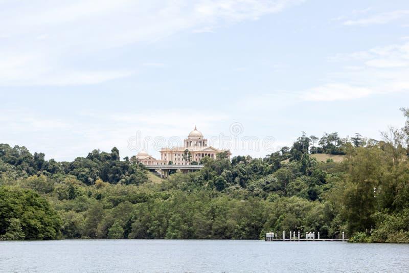 Palácio real em Brunei Darussalam foto de stock royalty free