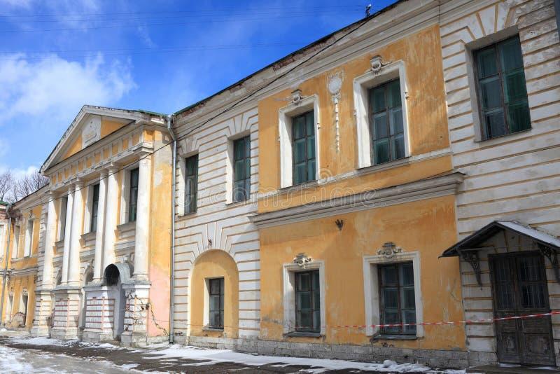 Palácio real em Tver fotos de stock royalty free