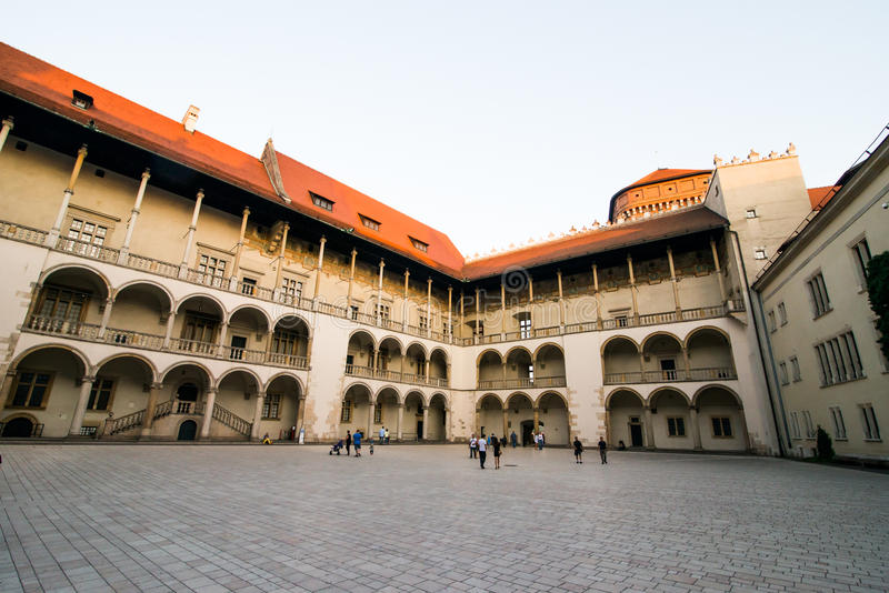 Palácio real em Wawe fotografia de stock royalty free