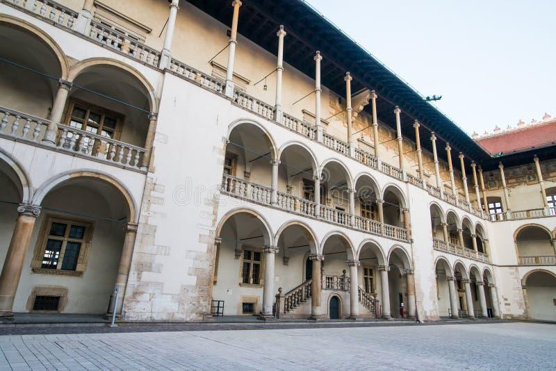 Palácio real em Wawe foto de stock