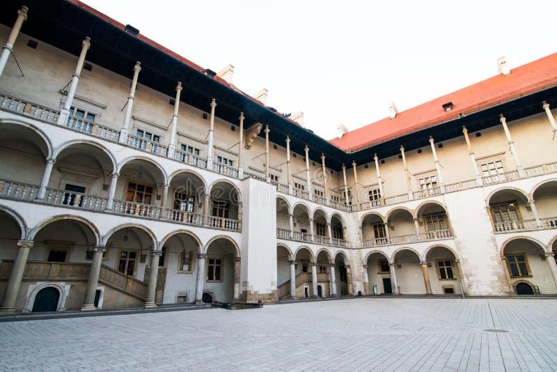 Palácio real em Wawe imagem de stock royalty free