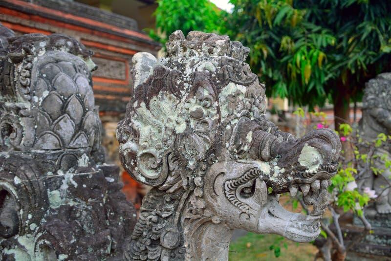 Palácio real, Klungkung, Bali, Indonésia foto de stock