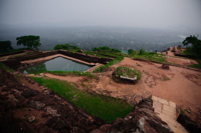Palácio Sigiriya do rei foto de stock