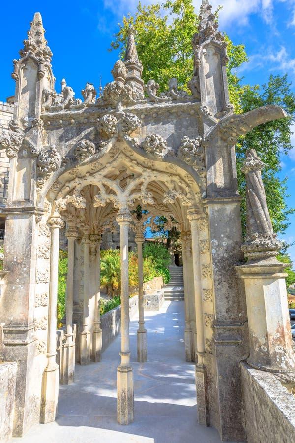 Palácio Sintra de Regaleira fotos de stock royalty free