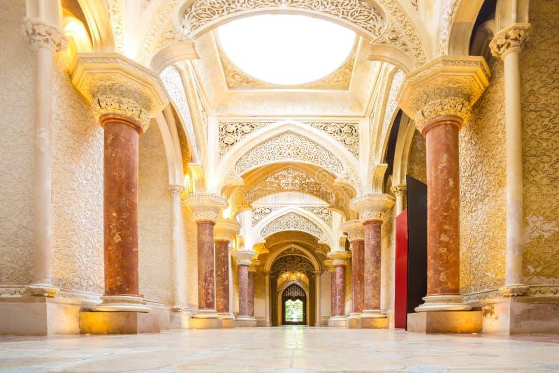 Palácio Sintra Portugal de Monserrate imagens de stock