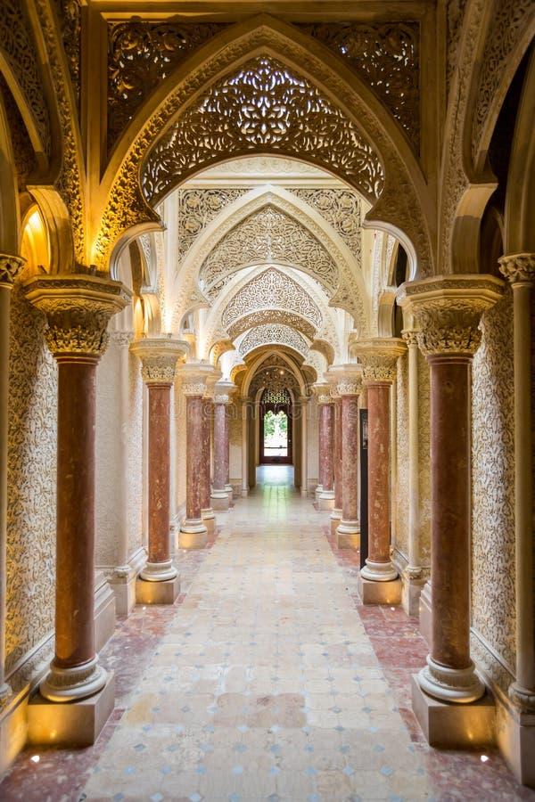 Palácio Sintra Portugal de Monserrate imagens de stock royalty free