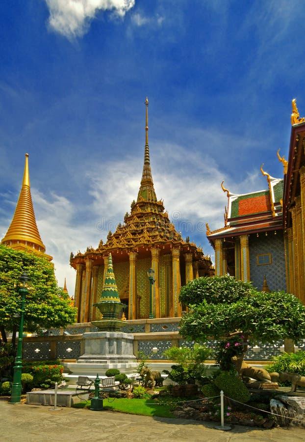 Palácio tailandês fotografia de stock royalty free
