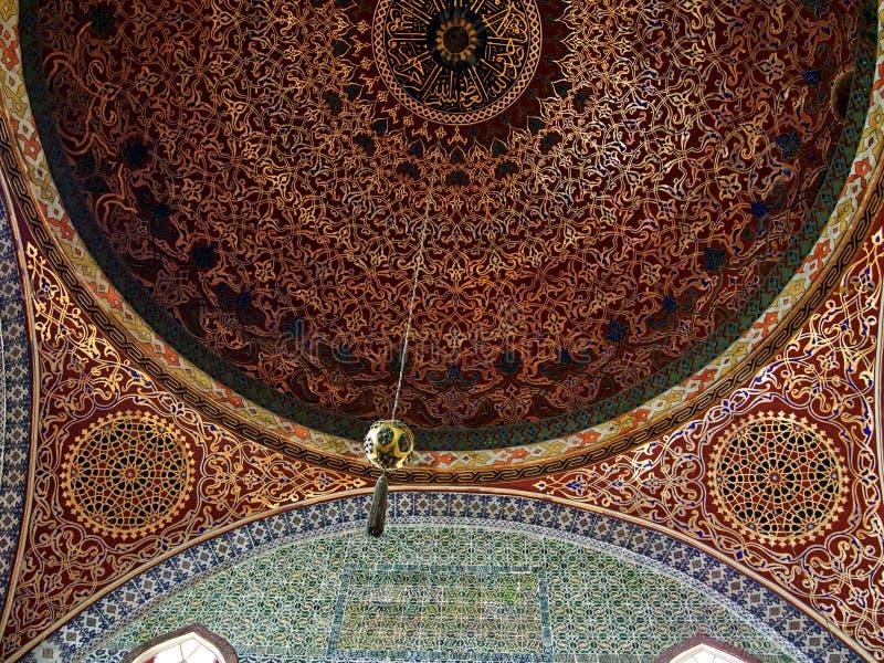 Palácio Topkapi do harém imagens de stock