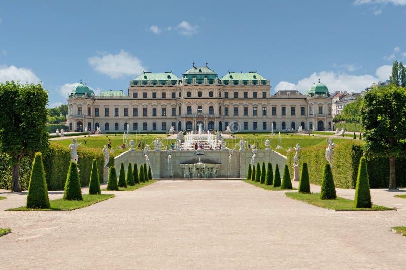 Palácio Viena do Belvedere fotografia de stock royalty free