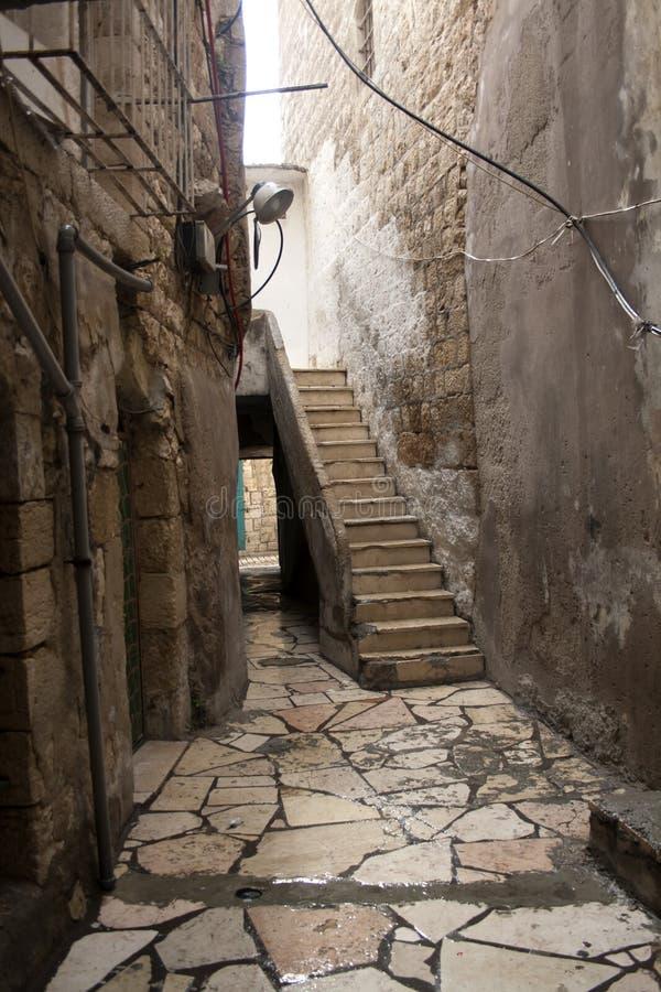 Palästina-Landschaft Bethlehem-Stadtbild Draufsicht von antiquitie stockfotos