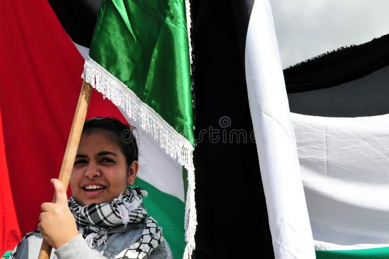 Palästinensische Leute stockfoto