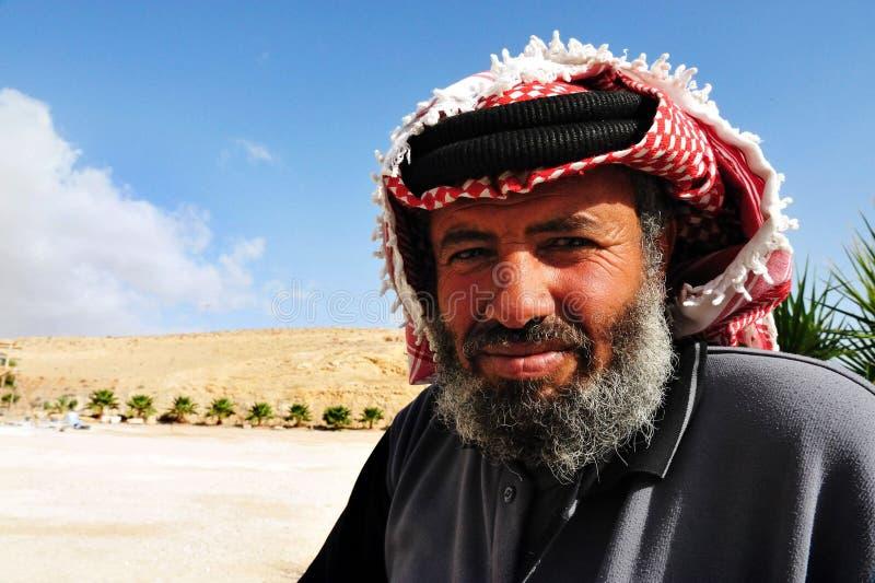 Palästinensischer Mann lizenzfreies stockfoto