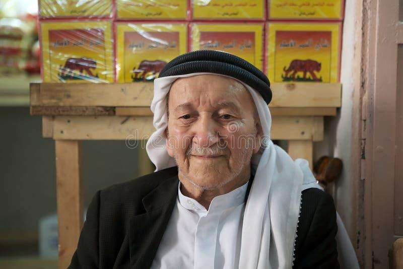 Palästinensischer Mann stockfoto