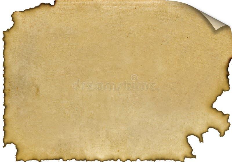 palący papier ilustracja wektor