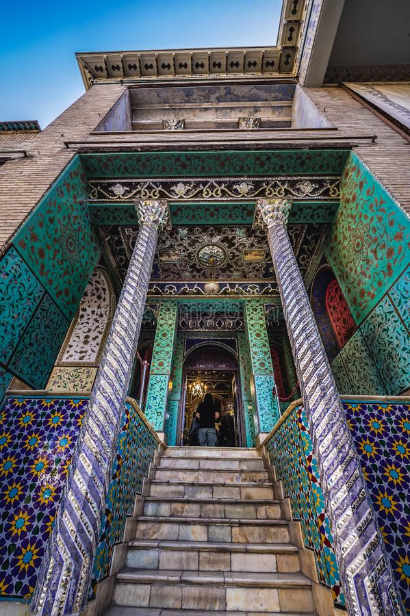 Pal?cio de Golestan em Tehran imagem de stock royalty free