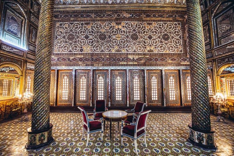 Pal?cio de Golestan em Tehran fotos de stock royalty free
