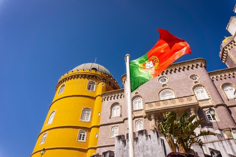 Pal?cio de Pena em Sintra Lisboa, Portugal fotografia de stock royalty free